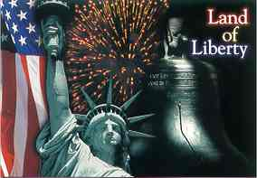 land of liberty